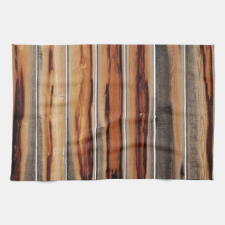 Wood Fence Texture Cool Unique Kitchen Towel