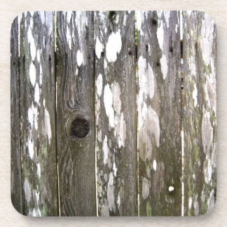 Wood Fence Texture Photography Drink Coaster