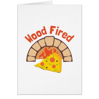 Wood Fired Card