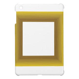wood frame iPad mini case