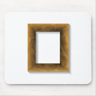 wood frame mouse pad