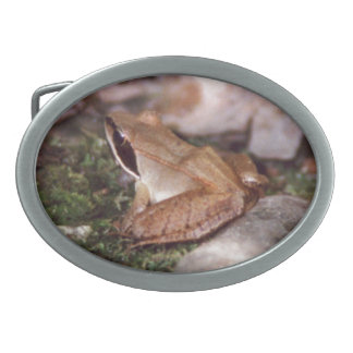 Wood Frog Belt Buckle