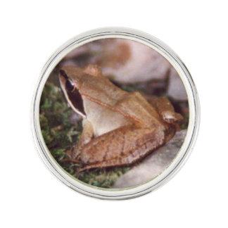 Wood Frog Lapel Pin