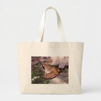 Wood Frog Large Tote Bag