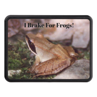 Wood Frog Trailer Hitch Cover