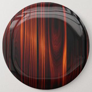 Wood Glossy Button Pin