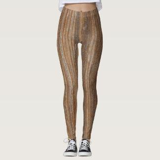 Wood Grain 2 Leggings