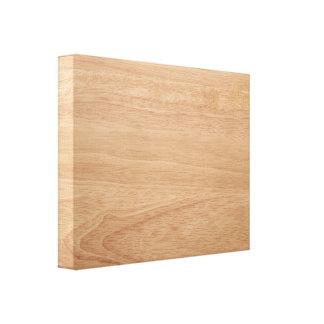 Wood grain background canvas print