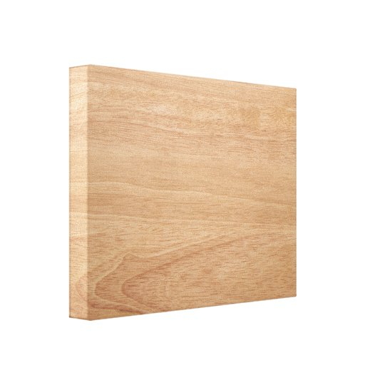 Wood grain background canvas print
