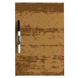 Wood Grain Background Dry Erase Board