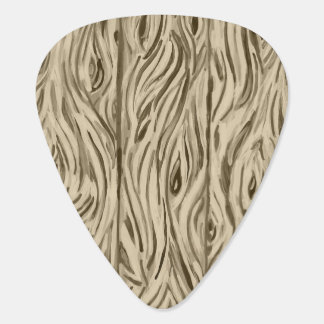 wood grain board planks guitar picks guitar pick
