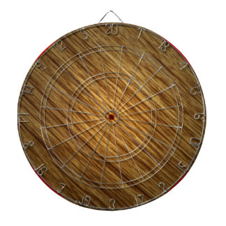 Wood Grain Dartboard