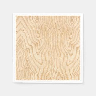 Wood Grain Disposable Napkins