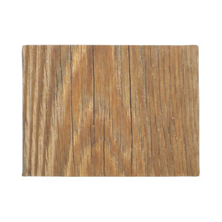 Wood Grain Doormat
