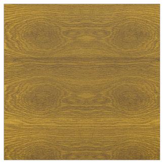 Wood Grain Effect Print Fabric