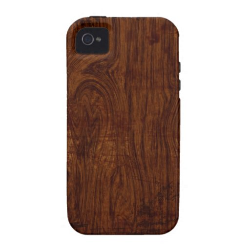Wood Grain iPhone 4 Case
