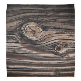 Wood Grain Pattern Bandana