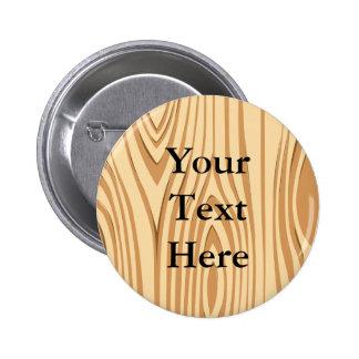 Wood Grain Pattern Button