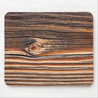 Wood Grain Pattern Mouse Pad