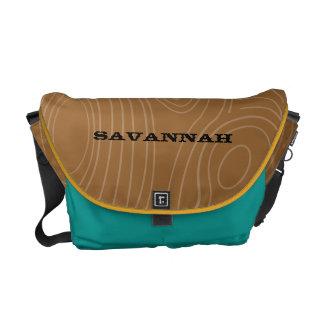 Wood Grain Pattern You Choose Colors Commuter Bags