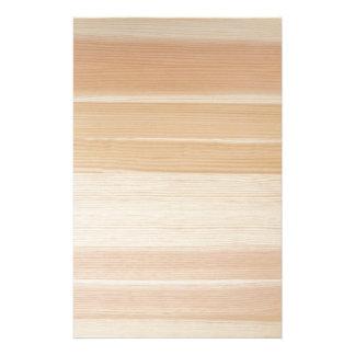 Wood grain stationery