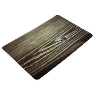 Wood Grain Texture by Shirley Taylor Floor Mat