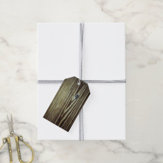 Wood Grain Texture Pack Of Gift Tags