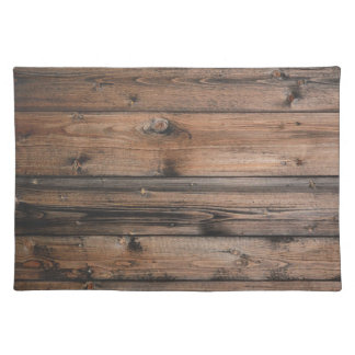 Wood Grain Texture Placemat