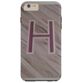 Wood H phone case