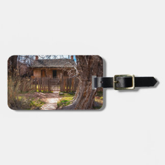 Wood Home - Grafton Ghost Town - Utah Bag Tag