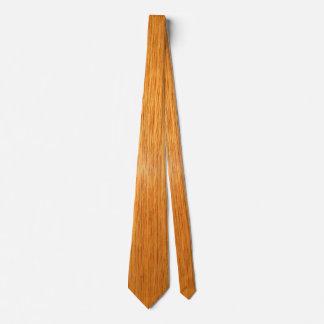 Wood Honey Oak Tie