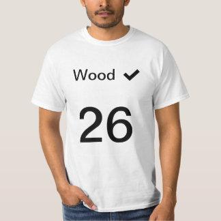 Wood Hood #26 jersey T-Shirt