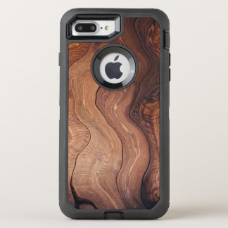 Wood In Motion Pattern Rustic Natural Stylish OtterBox Defender iPhone 8 Plus/7 Plus Case