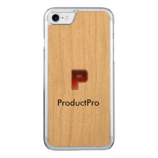 Wood iphone 7 case ProductPro logo