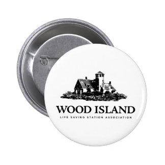 Wood Island Life Saving Station Assoc 2 Inch Round Button