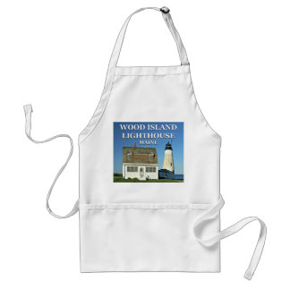 Wood Island Lighthouse, Maine Cooking Apron