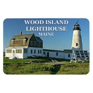 Wood Island Lighthouse, Maine Flexi Magnet