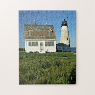 Wood Island Lighthouse, Maine Jigsaw Puzzle