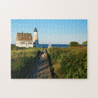 Wood Island Lighthouse, Maine Puzzle