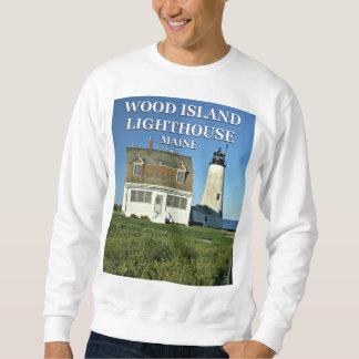 Wood Island Lighthouse, Maine Sweatshirt