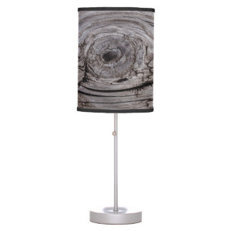 Wood Knot Wood Texture Table Lamp