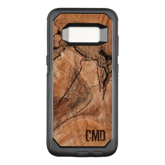 Wood Knots Texture OtterBox Commuter Samsung Galaxy S8 Case