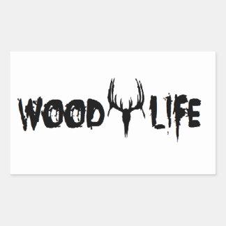 Wood Life Sticker