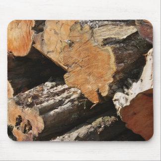 Wood Logs Mousepad