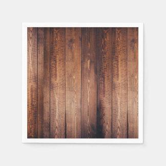 Wood-look Napkins Paper Napkins