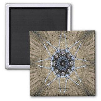 Wood Mandala... Magnet