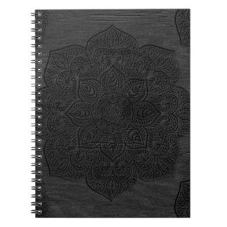 Wood mandala note book