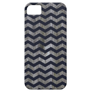 Wood navy blue chevron zig zag zigzag pattern iPhone 5 covers