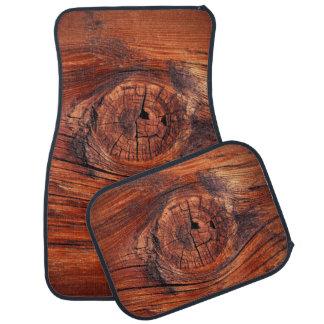 Wood Node Texture Car Mats Floor Mat
