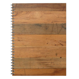 Wood Notebook Journal